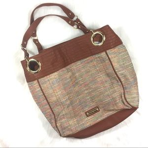 Steve Madden Large Woven Tote